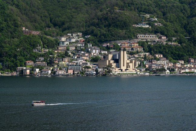 Switzerland just handed one of its towns back to Italy
