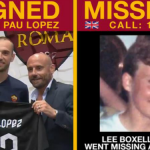 Why is this Italian football club posting missing people pics?