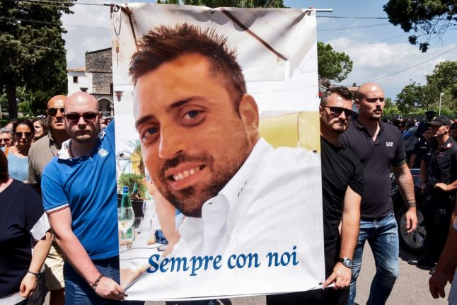 US students go on trial in Italy over killing of Rome police officer