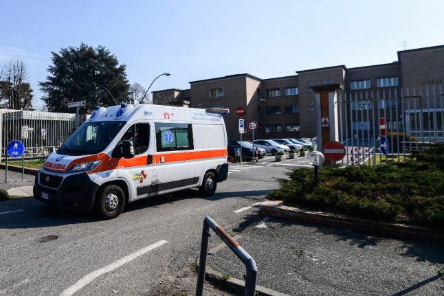 LATEST: Italy confirms three more deaths from coronavirus