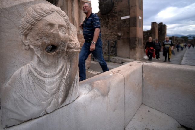 IN PHOTOS: The treasures unearthed during Pompeii's six-year restoration