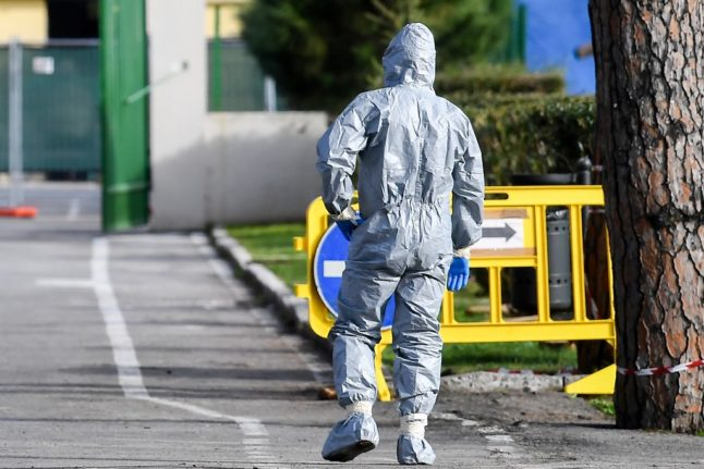 Italian town shuts down after six cases of coronavirus confirmed