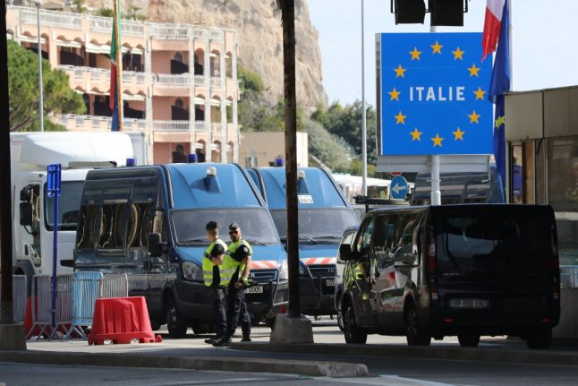 Italy's links to the outside world shrink as neighbours tighten borders and airlines scrap flights