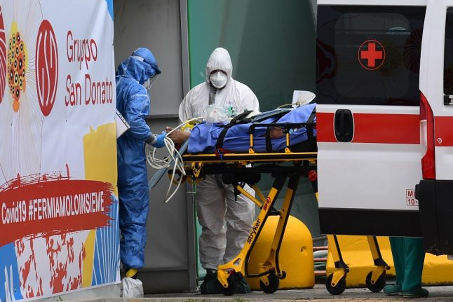 Ray of hope? Italy remains cautious after two-day drop in coronavirus cases
