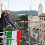 View from Rome's rooftops: Singing offers hope but it doesn't hide fear and frustration