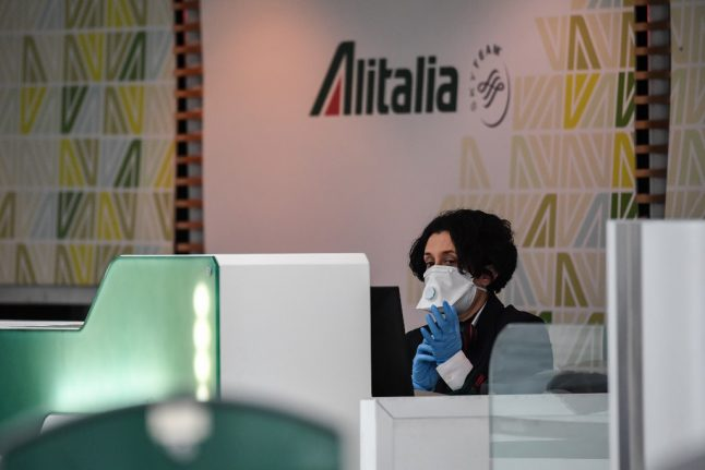 Italy announces plan to take over struggling Alitalia airline