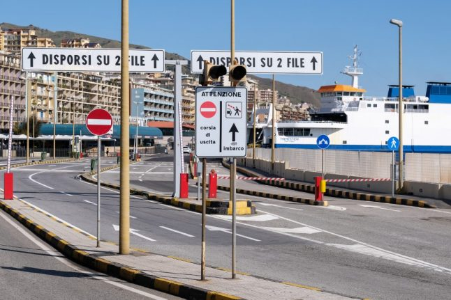 Sicily cuts connections to mainland Italy in bid to contain coronavirus