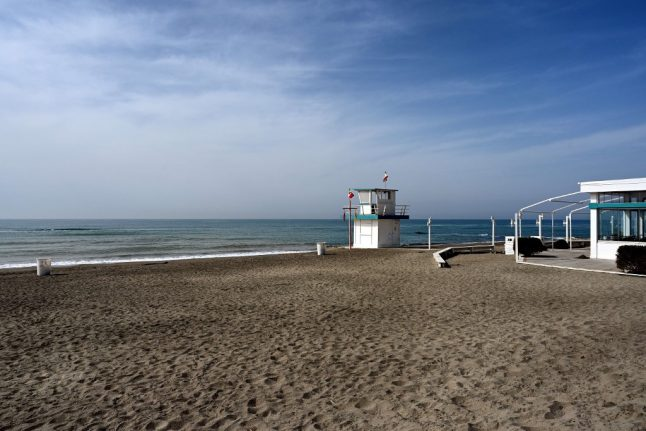Distant deckchairs and plastic barriers: The coronavirus precautions you could see on Italian beaches this summer