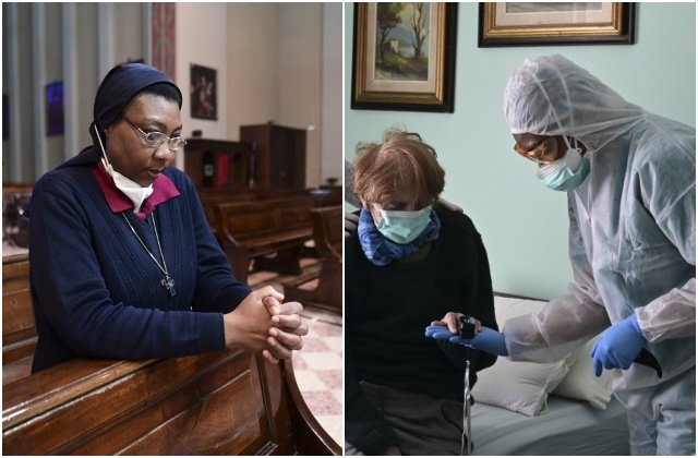 The Congolese nun-doctor fighting Covid-19 in Italy