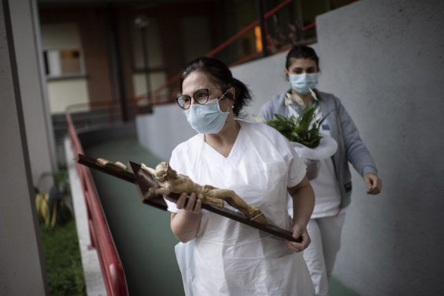 Italy records 619 new Covid-19 deaths as US becomes country worst hit by pandemic