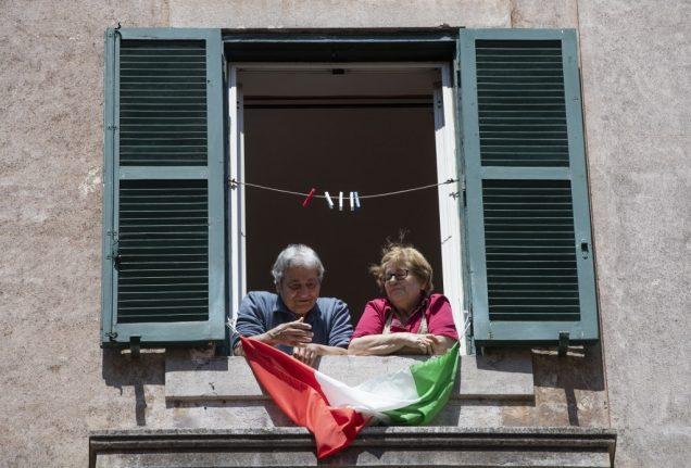 Italy records its lowest daily Covid-19 death toll since March 14th
