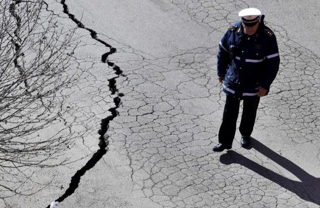 Why do sinkholes keep opening up in Rome?