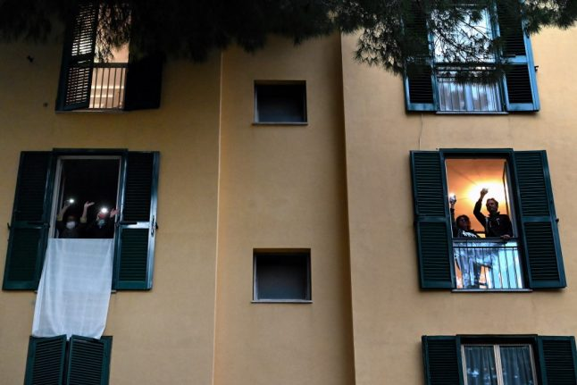 Italy eyes first steps out of lockdown as daily death toll drops