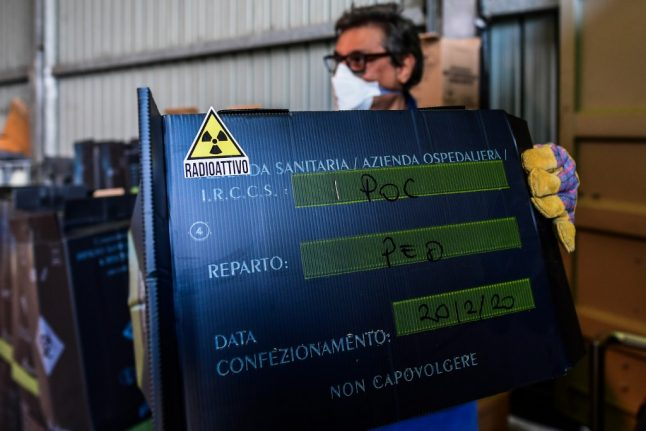 Coronavirus: Medical waste piles up at the epicentre of Italy's outbreak