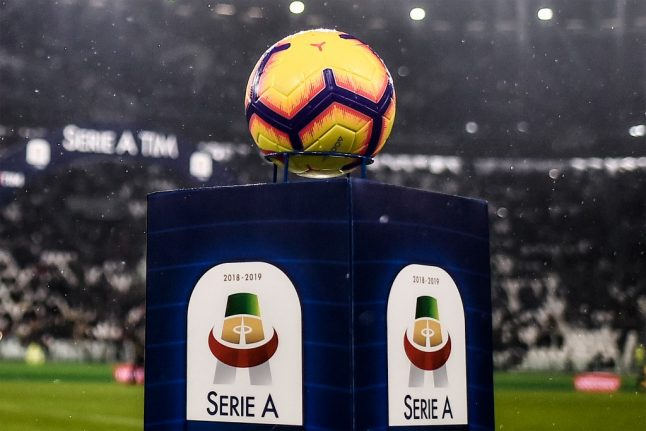 Italy confirms Serie A can resume season on June 20th