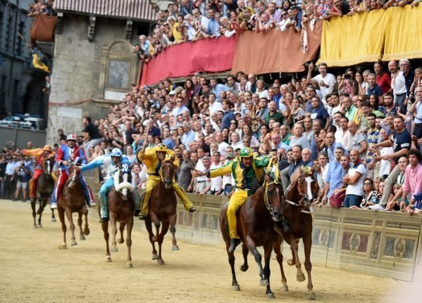 Italy cancels the Siena Palio for first time since World War Two