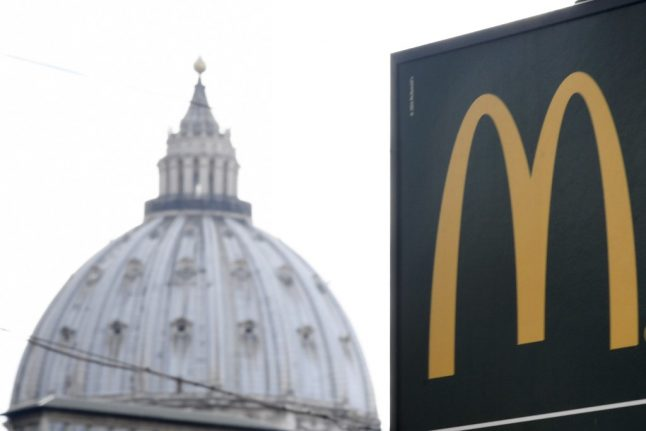 Traffic jams across Italian cities as McDonald's reopens under phase two