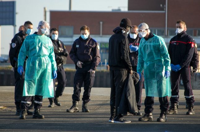Migrants rescued at sea to be allowed off Italy's quarantine ferry