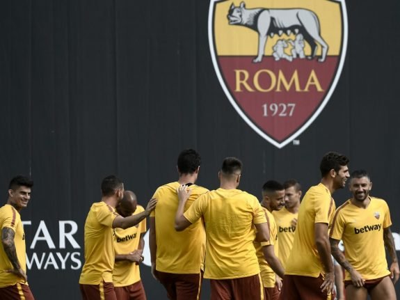 Italy's AS Roma adds 'Black Lives Matter' badge to players' shirts