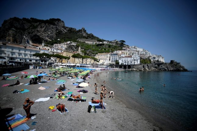 'We're really feeling their absence': Amalfi Coast braces for a summer without US tourists