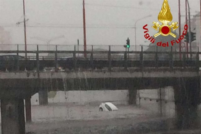 IN VIDEOS: Flash floods hit Palermo after most violent rainstorm in 200 years