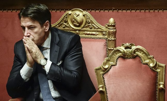 Italian PM wins backing to extend state of emergency