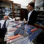 'A little corner of England in Naples': The secrets of a famed Italian tie shop