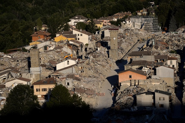 Amatrice earthquake: Four years on, Italy honours victims but less than 10% of rebuilding complete