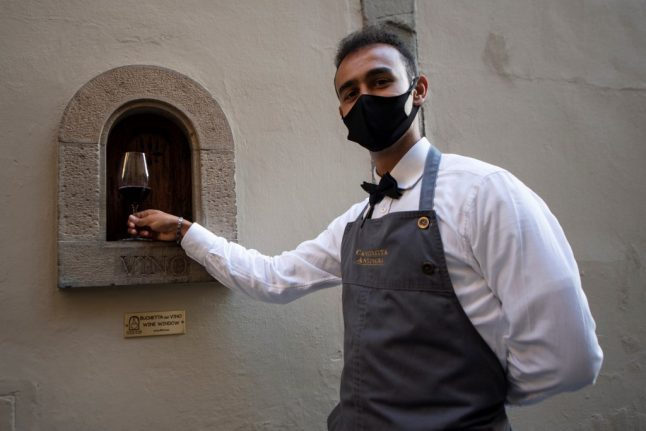 How Italy is reviving its historic 'wine windows' for the Covid era