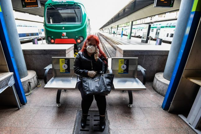 Thousands of tickets cancelled as Italy keeps social distancing on trains