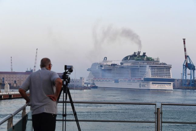 First cruise ship sets sail from Italy since coronavirus shutdown