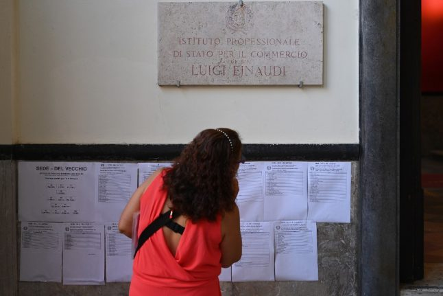'The first week back at school in Italy went well – then came the elections and strikes'