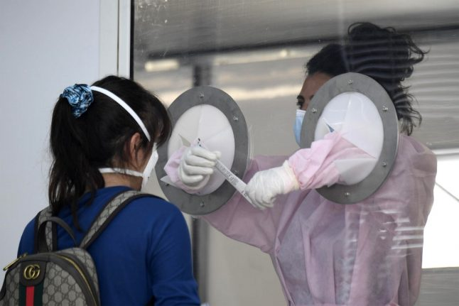Italy approves use of rapid airport-style coronavirus tests in schools