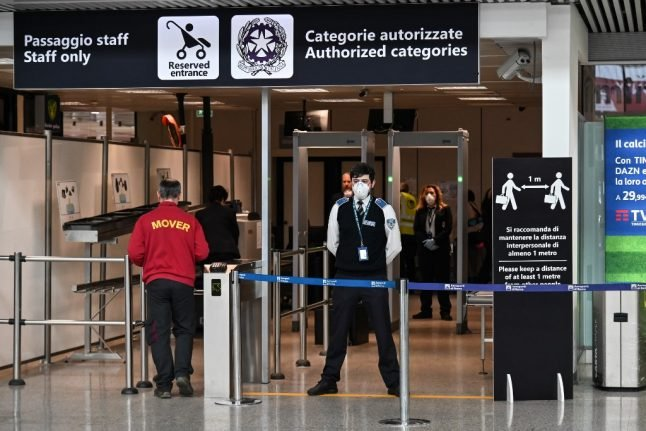 Italian health minister suggests Covid swab testing at all EU airports