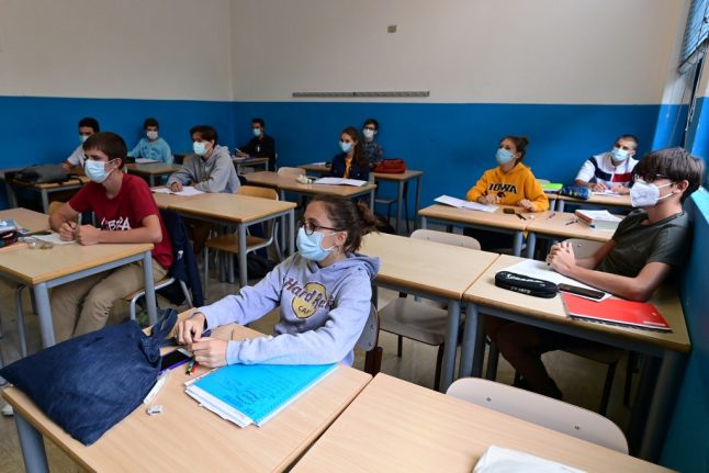How Italian schools are preparing for the return to class next week
