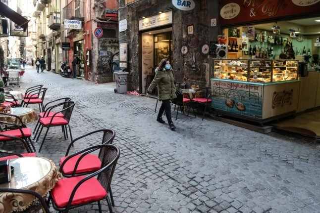 Italy's Campania region orders residents not to leave their own province