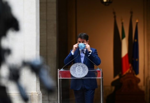 Italian PM: New restrictions necessary to head off second lockdown