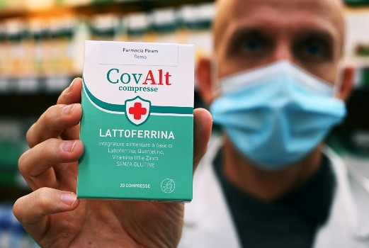 Italians snap up baby-milk supplement on claim it protects against Covid