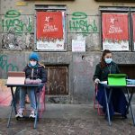 Italian pupils protest school Covid closure with street learning