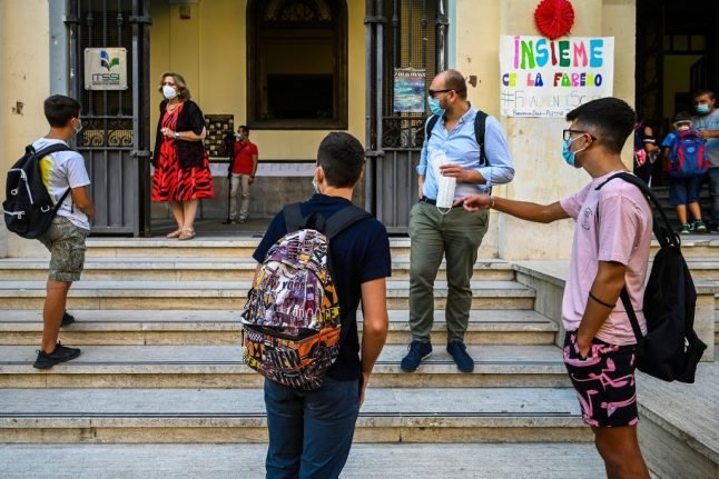 Which schools stay open under Italy's new emergency measures?