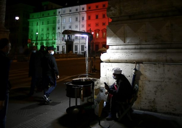 UPDATE: Italy delays national evening curfew until Friday