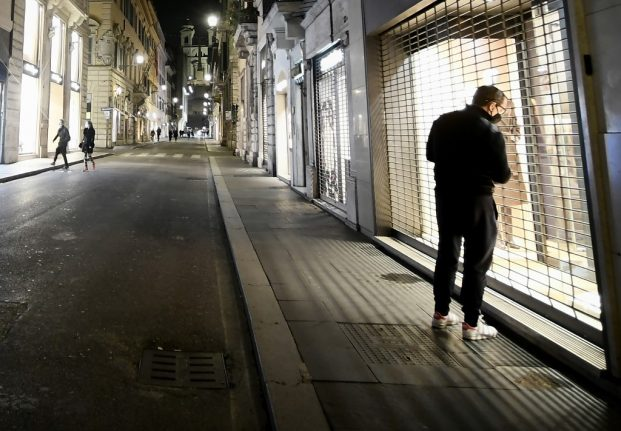 Curfew or lockdown: What will be in Italy's latest emergency decree?