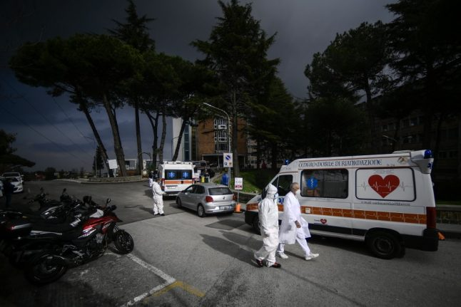 Tuscany and Campania declared Covid red zones as Italy records 40,000 new cases