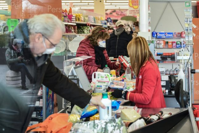 'Buy only what you need': Italy warned against panic-buying as new restrictions announced