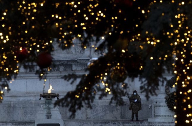 Here's the form you need to leave the house in Italy over Christmas