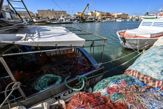 Italian fishermen return home after being held in Libya for three months
