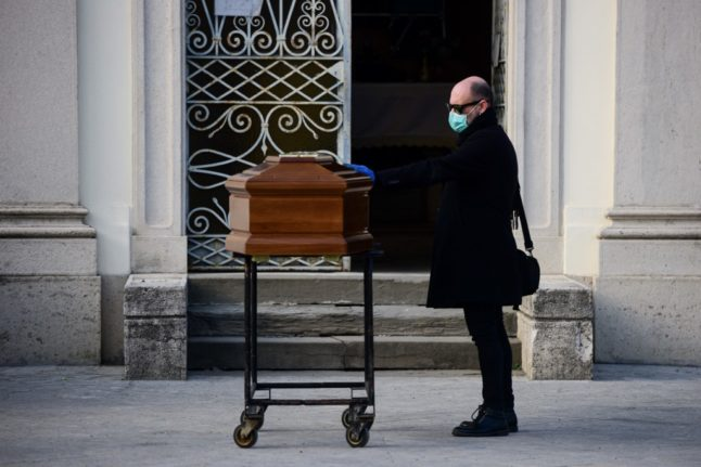 Italy records highest ever daily Covid death toll