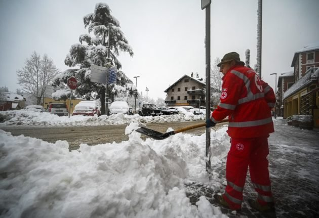 Italy issues red and orange weather alerts as storms continue