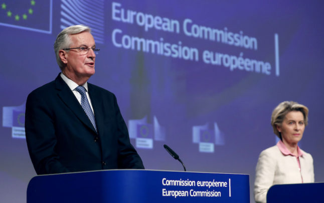 'The deal is done': EU and UK finally reach a Brexit trade agreement