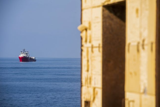 Rescue ship cleared to dock in Sicily with 373 migrants on board